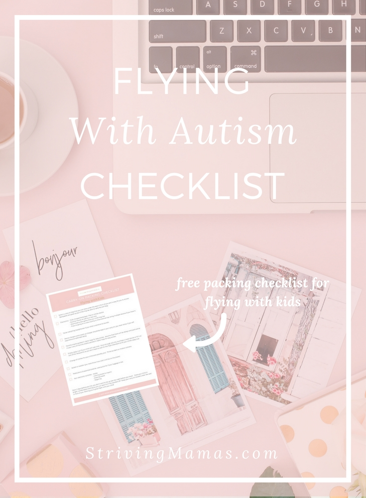 Flying with Autism Checklist