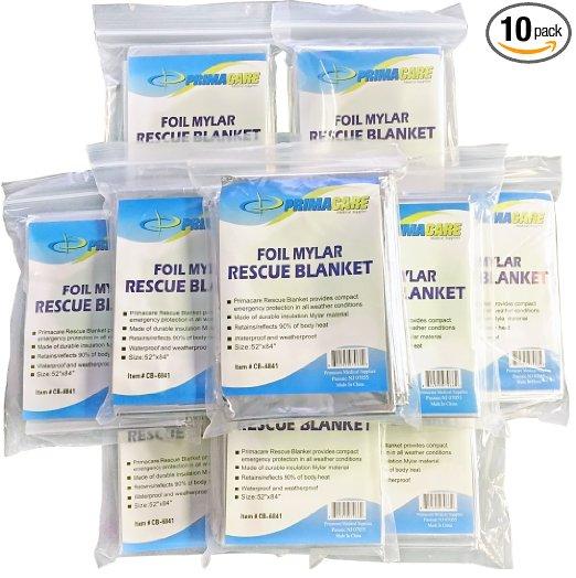 Emergency Foil Mylar Blanket